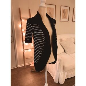 Express Striped Cardigan